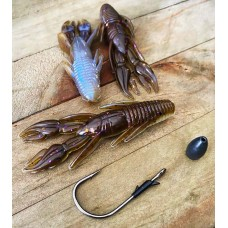 "X Zone 3.5"" Punisher Punch Craw"